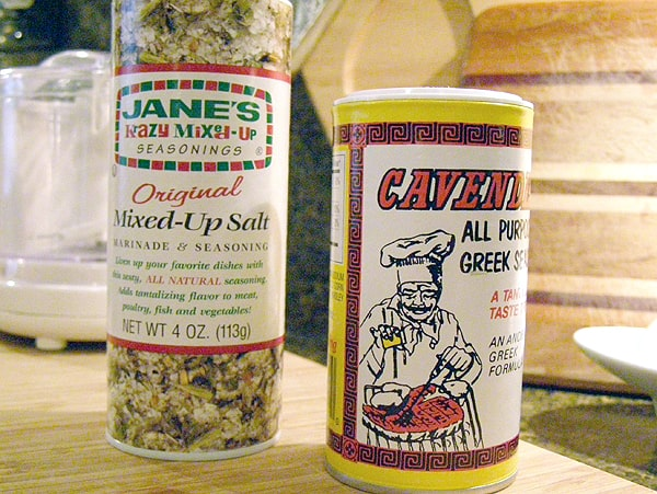 Seasonings for Burgers Nana Style