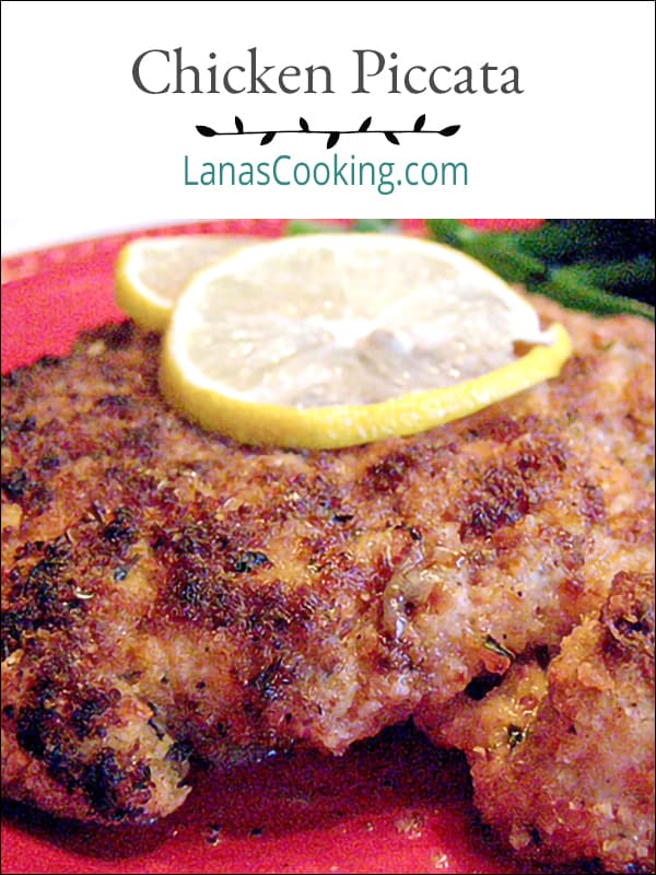 Classic Chicken Piccata from the Barefoot Contessa with a butter, lemon and white wine sauce. From @NevrEnoughThyme https://www.lanascooking.com/bb-chicken-piccata/