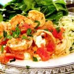 Baked Shrimp with Feta and Herbed Orzo
