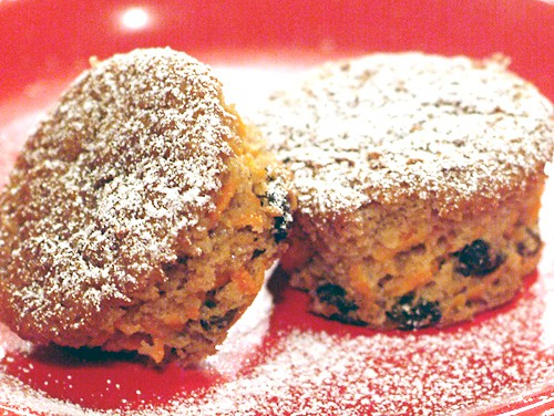 Carrot Raisin Muffins #breads #quickbreads #muffins #carrots #raisins #breakfast #snacks