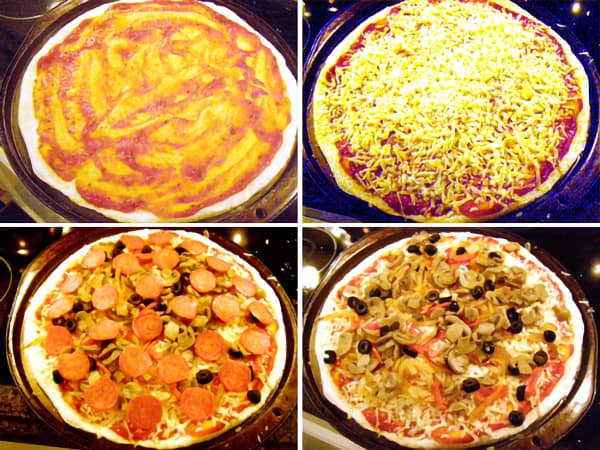 Pizza toppings for Favorite Homemade Pizza
