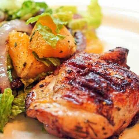 Orange-Rosemary Grilled Chicken