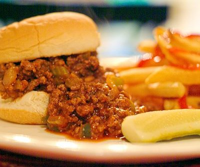 Back to School Dinner – Sloppy Joes
