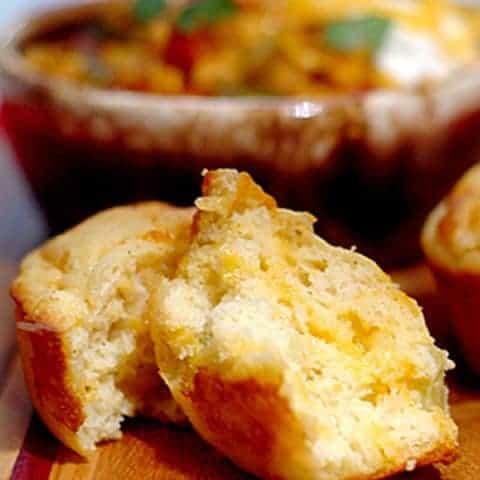 Chili-Cheese Corn Muffins