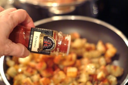 Add paprika to Home Fries