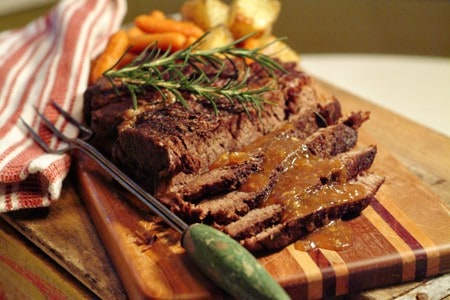 Pot Roast with Rosemary and Garlic