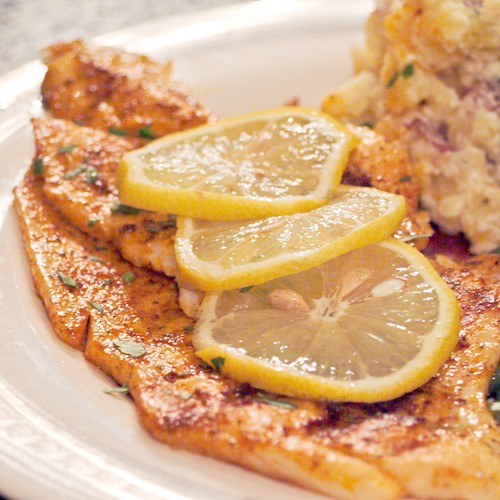 Simple grilled fish never enough thyme for How to grill fish fillet