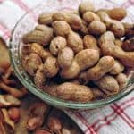 Boiled Peanuts - a little salty, a little earthy, a lot delicious! A real southern delicacy. From @NevrEnoughThyme https://www.lanascooking.com/boiled-peanuts/