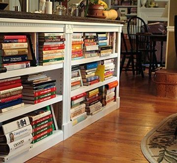 My kitchen bookcases