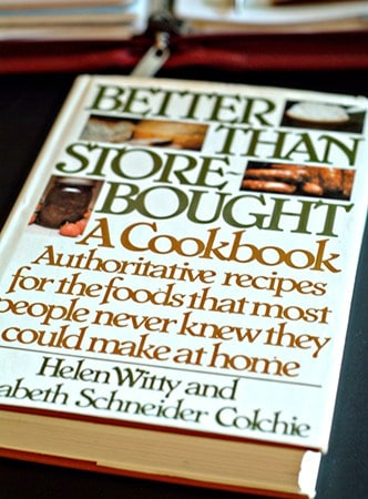 """Photo of the book """"Better Than Store-Bought"""""""