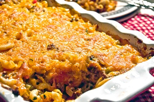 Cheesy Beefy Mac