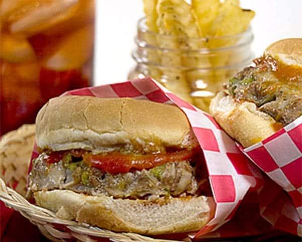 Meatloaf Burgers