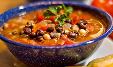 Black & White Bean Soup