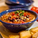 Black & White Bean Soup