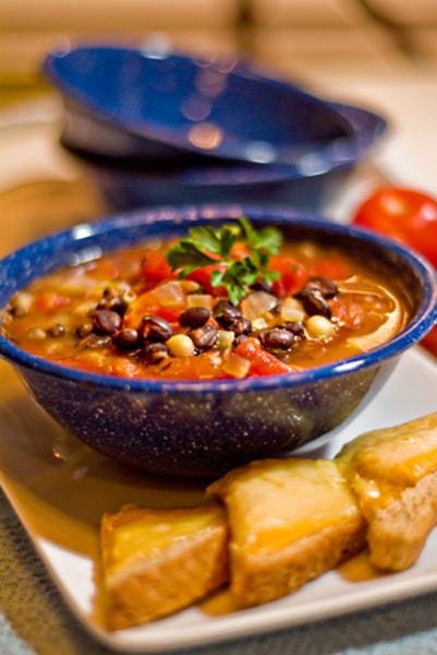 Black and White Bean Soup