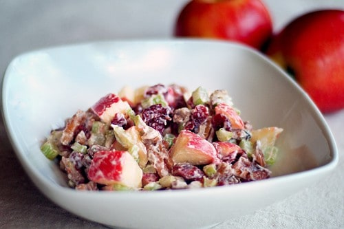 Not Quite Classic Waldorf Salad