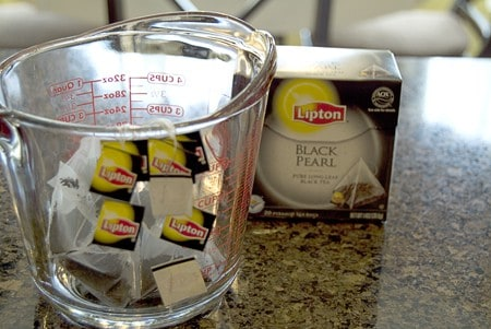 Black Pearl Tea bags for Spiced Tea
