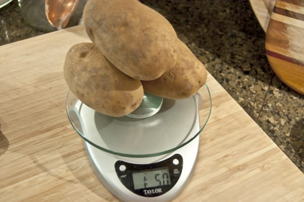 Potatoes for Dutch Mashed Potatoes (Hete Bliksem)