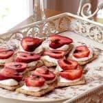 Strawberry-Balsamic Appetizer