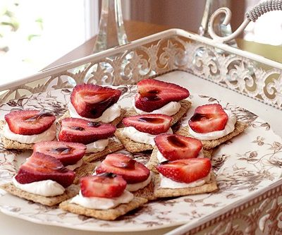 Strawberry-Balsamic Appetizer