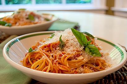 Top with Parmigiano Reggiano