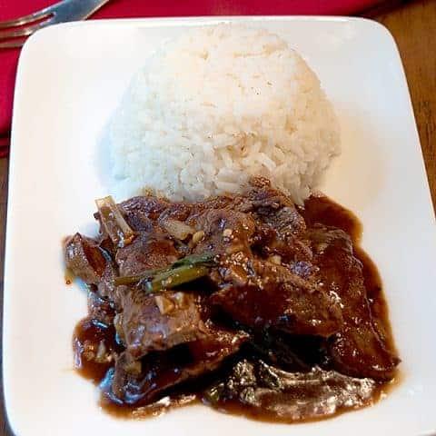 Beef and Scallion Stir Fry