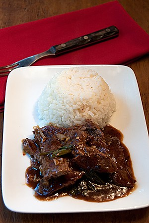 Post image for Beef and Scallion Stir-Fry