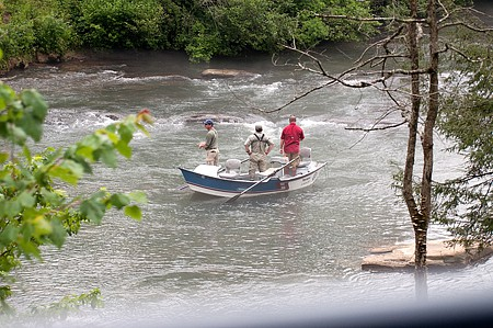 Fishing on the Toccoa River