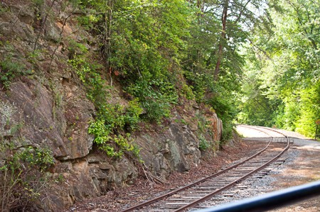 Murphy Spur on the Blue Ridge Scenic Railway