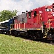 Riding the Blue Ridge Scenic Railway