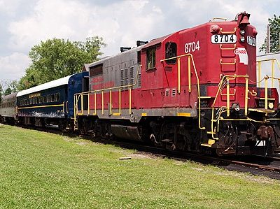 Riding the Blue Ridge Scenic Railway