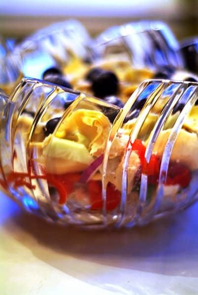 Layered Mediterranean Salad