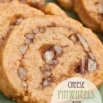 Cheese Pinwheels with Mayhaw Jelly