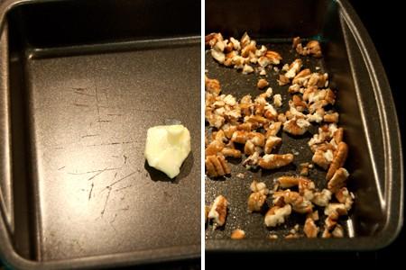 Toasting Pecans