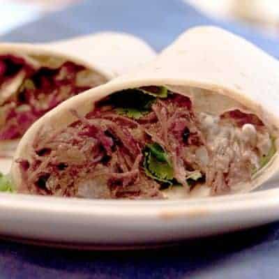 Machaca Burritos