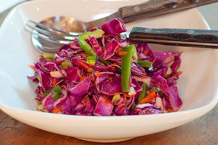 Red Cabbage Slaw