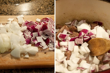 Onions for Vegetable Beef Soup