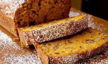 Black Walnut Pumpkin Bread