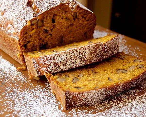 Black Walnut Pumpkin Bread