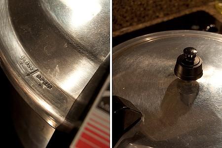 Close the pressure cooker