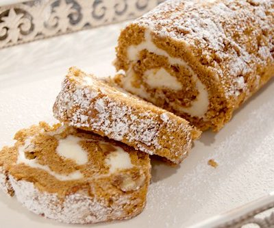 Cream Cheese Filled Pumpkin Roll
