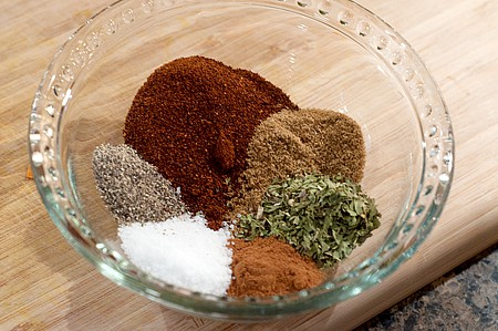 Spices for Vegetable Chili