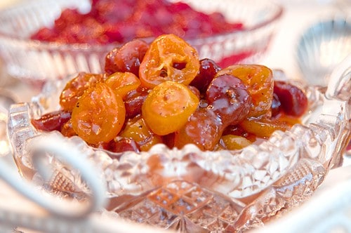 Kumquat and Dried Cherry Chutney