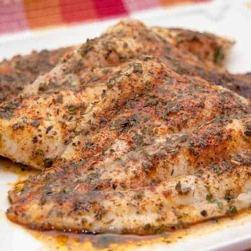 Baked catfish for Fish fillet in oven