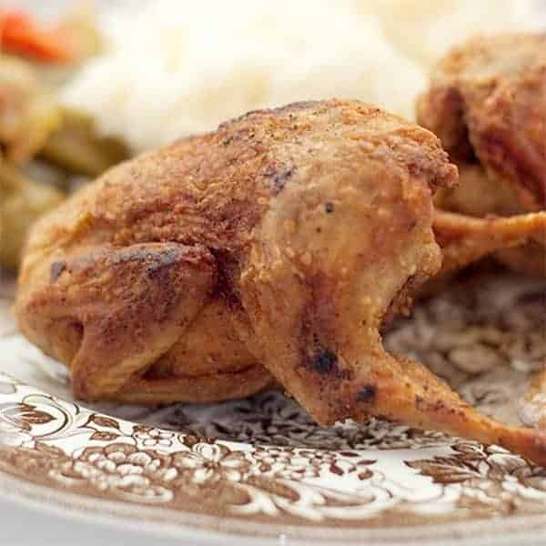 Southern Fried Quail - A southern delicacy straight out of my childhood - simply seasoned, deep fried quail. From @NevrEnoughThyme http://www.lanascooking.com/southern-fried-quail/