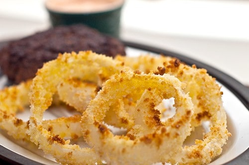 Baked Panko Onion Rings