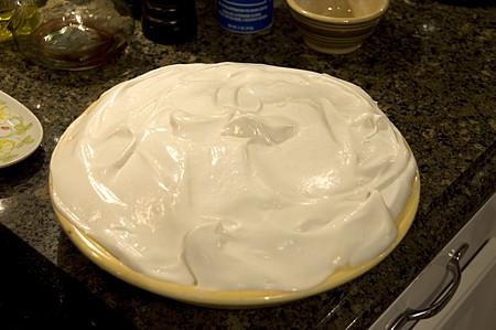 Top with meringue