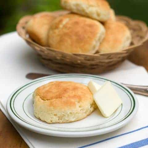 Another Buttermilk Biscuit - These are the buttermilk biscuits I remember from childhood. They're moist and substantial and totally delicious. From @NevrEnoughThyme https://www.lanascooking.com/another-buttermilk-biscuit/