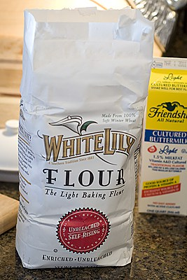 White Lily Flour - the best for biscuit making