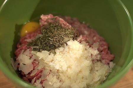 Baked Meatballs Mixture